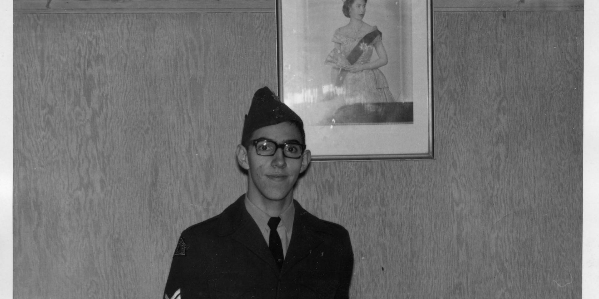 9. Fall 1966 - Sgt Ed Beauregard receive