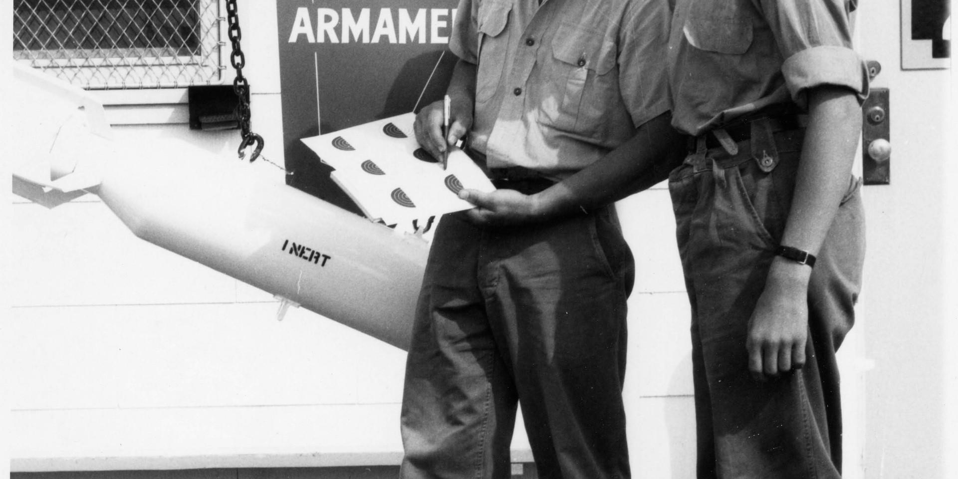 6. 1965 Summer Camp - checking target sh