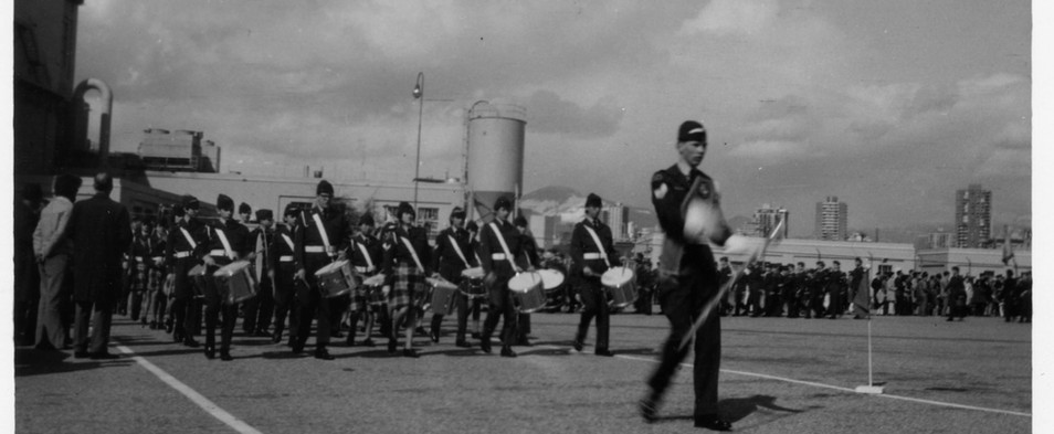 April 1967 Wing Parade in Vancouver - ma