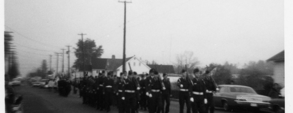 22. Remembrance Day 1967 - Marching to F