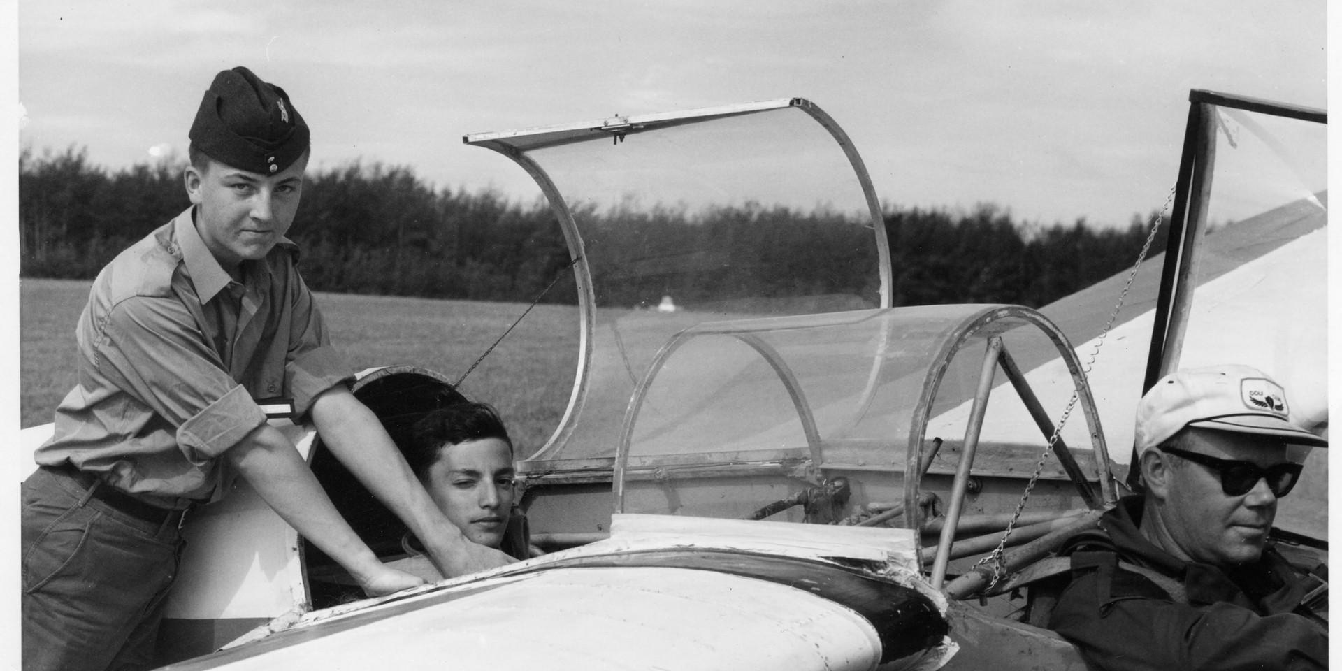 4. 1965 Summer Camp - Glider flights - S