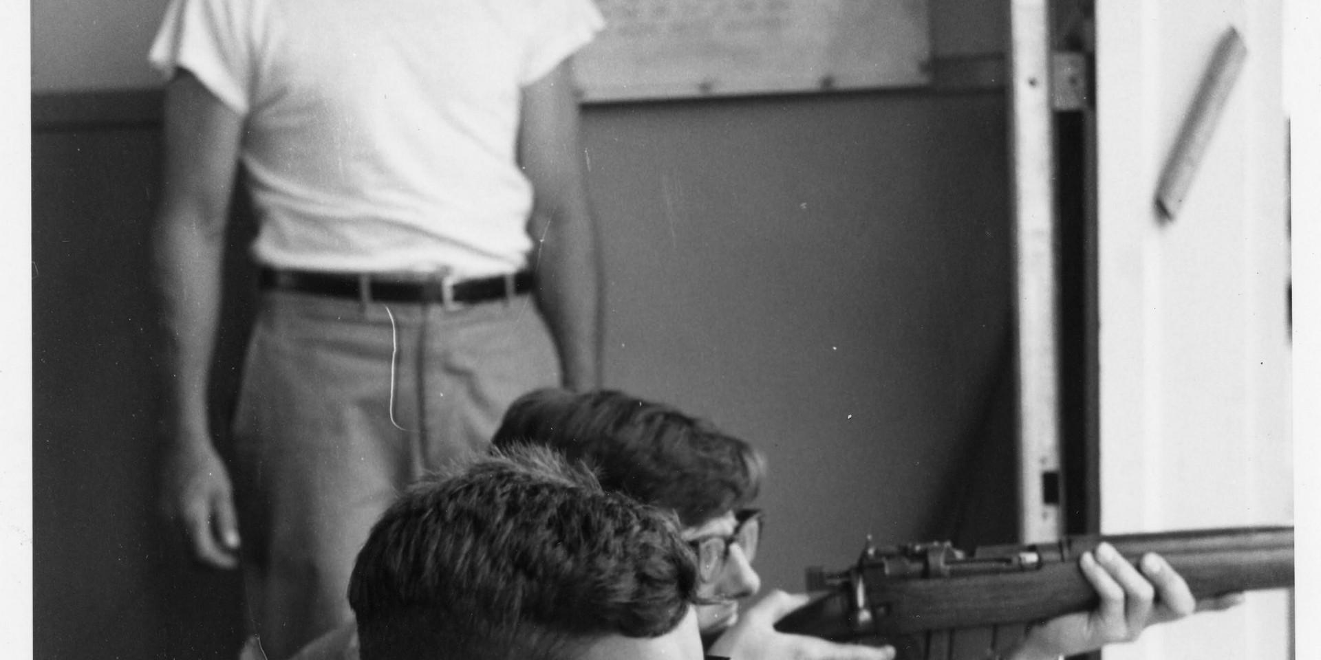 5. 1965 Summer Camp - target shooting.jp