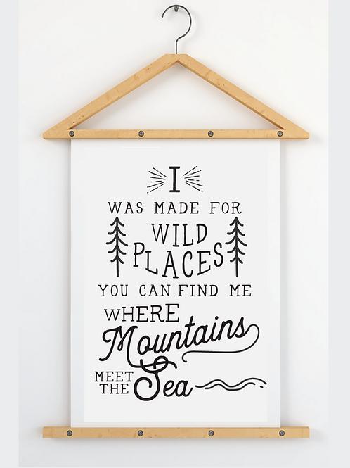 Mountain vs Sea