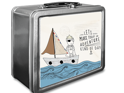 Captain Adventure Lunchbox