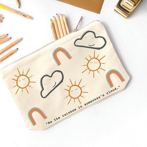 Rainbow Cloud Pencil Case