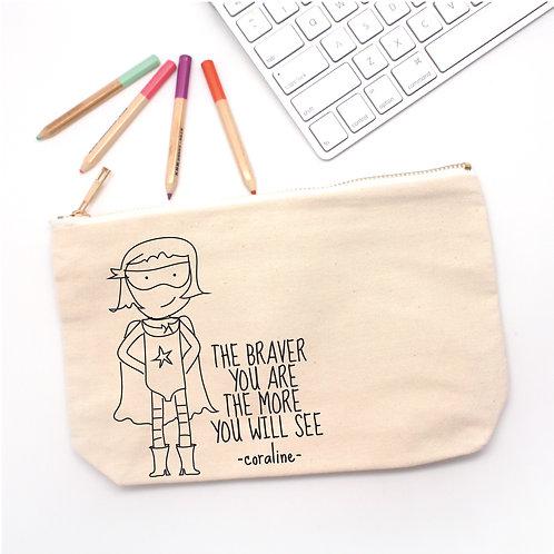Super Girl Pencil Case