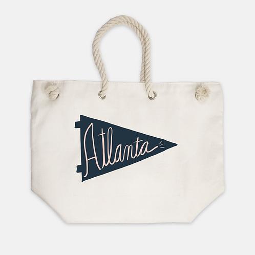 Atlanta Pennant Tote