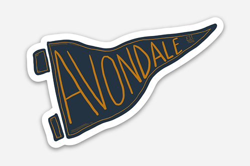 Avondale Estates Sticker