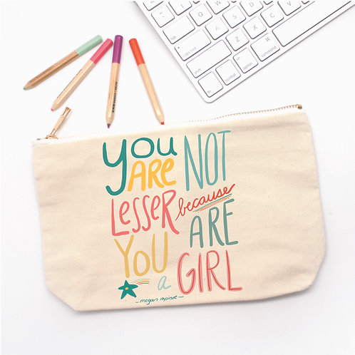 You are a Girl Pencil Case