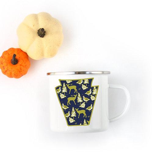 Keystone Enamel Mug