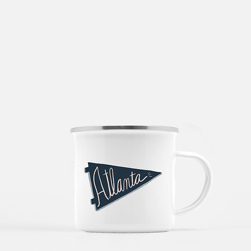 Atlanta Enamel Mug