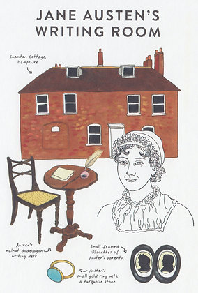 Writing Rooms: Jane Austen