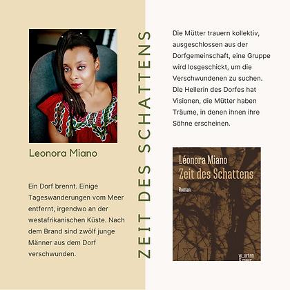 Zeit des Schattens von Léonora Miano