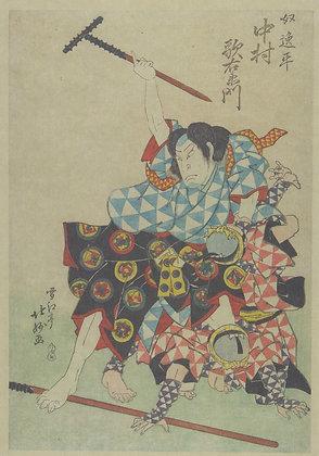 Nakamura Utaemon IV as the Servant Ippei