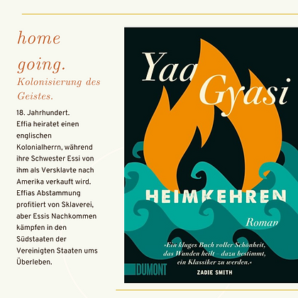 Heimkehren - Yaa Gyasi