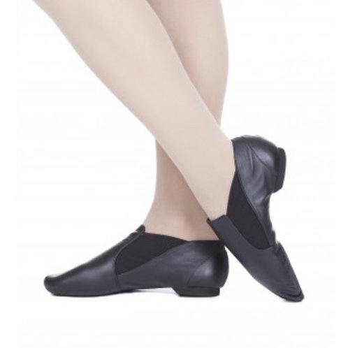 LAST PAIRS - JAZZ SHOES (SYDNEY) (up to size adult 8.5) - Slip On - Leather