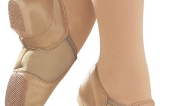 JAZZ SHOES TAN (AMERICA) - sizes ch 12 to ad 12