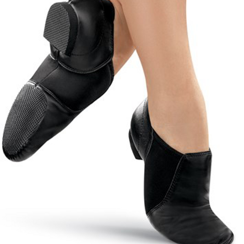 TO ORDER - JAZZ SHOES BLACK - sizes ch 12 to ad 12