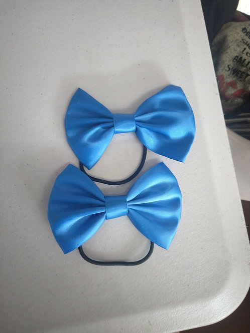 Galaxy hair tie bow X2