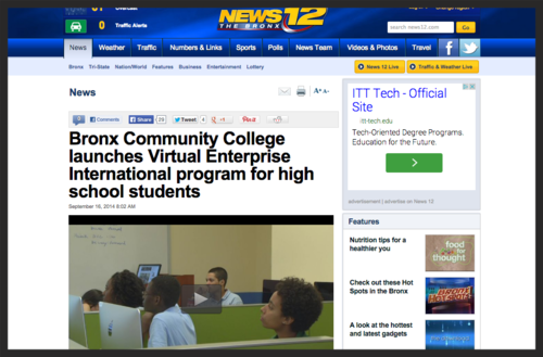 BCC launches Virtual Enterprise International Program for High School students