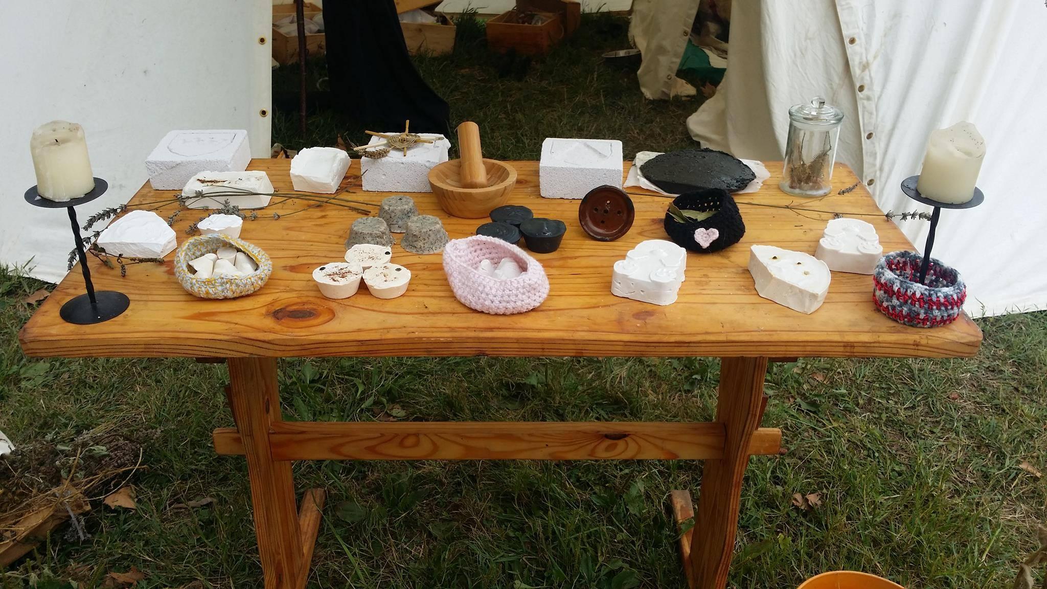 Fabrication artisanale de savon