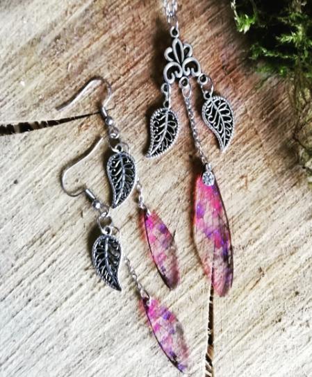 Créatrice d'ailes de fées en bijoux