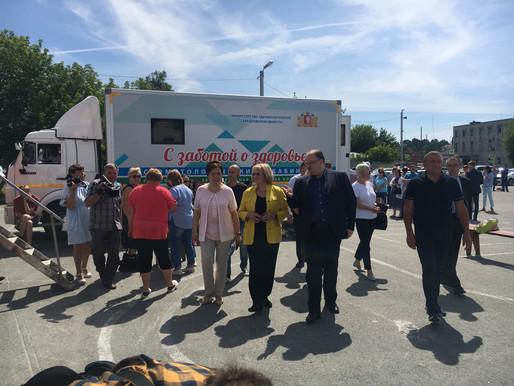 Андрей Цветков: национальные проекты стали драйвером развития свердловского здравоохранения