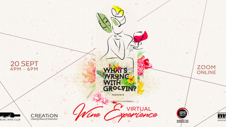 Come get your Spring groove on with Joburg Wine Club's  virtual wine experience