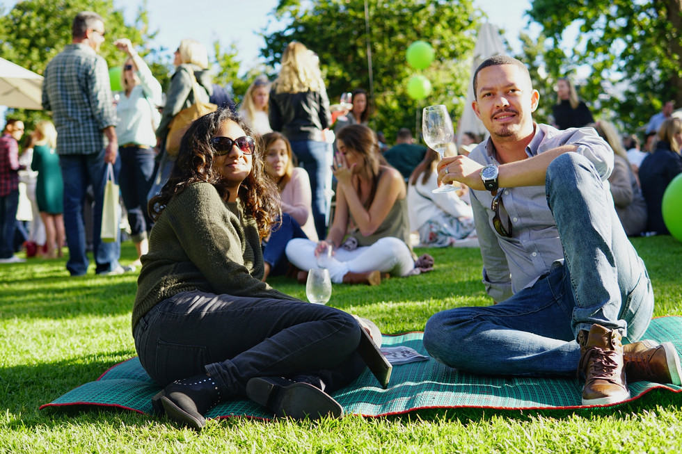 Our afternoon of food and wine delight at Constantia Fresh 2018