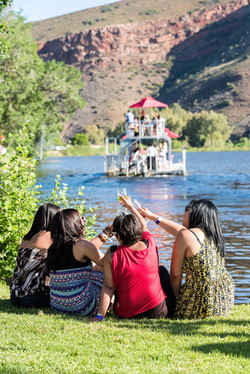 Ladies enjoying springtime in Robertson Wine Valley