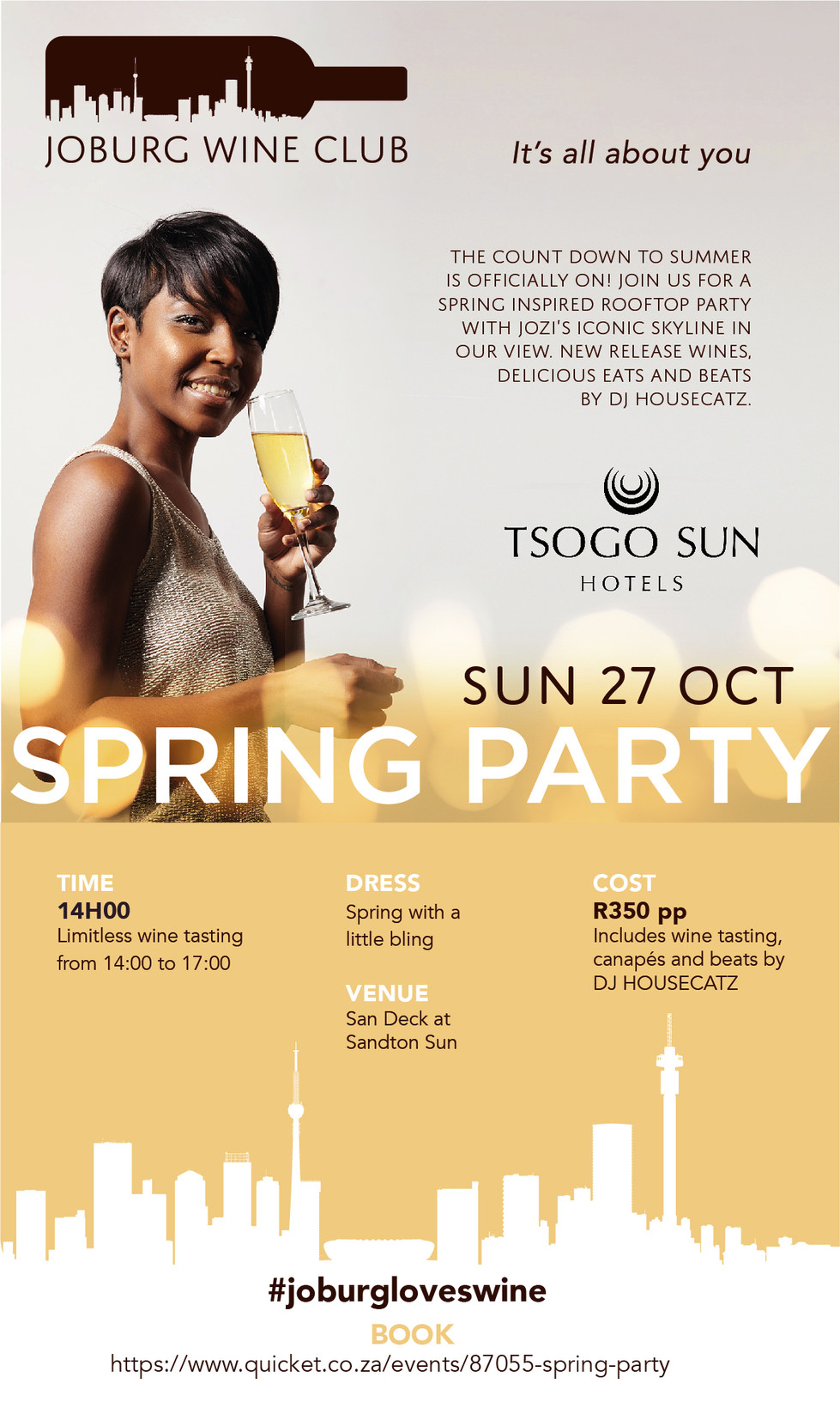 Get ready for the Joburg Wine Club Spring Party!