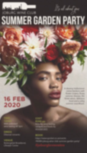 Summer garden party 16 Feb 2020 e-flyer.