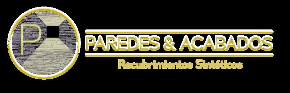 LOGO PAREDES Y ACABADOS propuesta TRES M