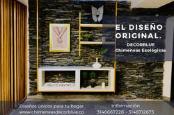 chimenea pre-diseñada marca Decorblue
