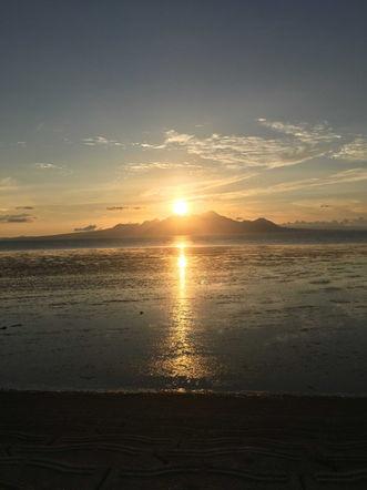Sunset at Okoshiki-kaigan (Kumamoto) (KM)