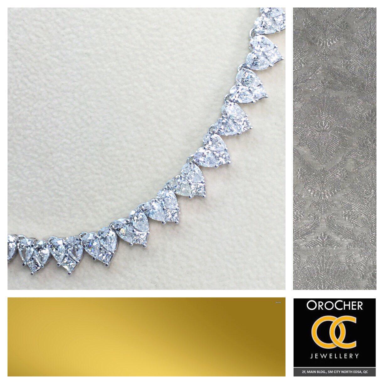 Diamond Illusion Heart Necklace