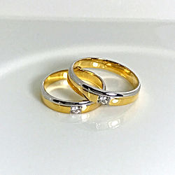 Orocher Wedding Rings Style 05