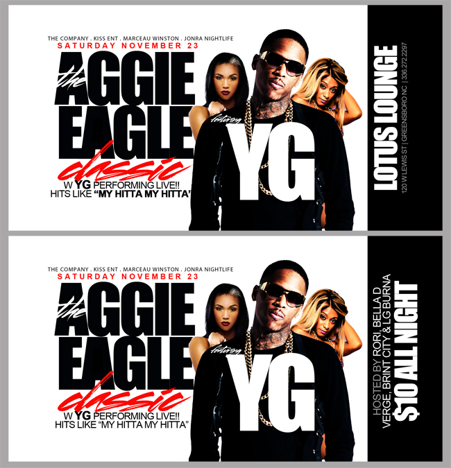 Aggie Eagle with YG