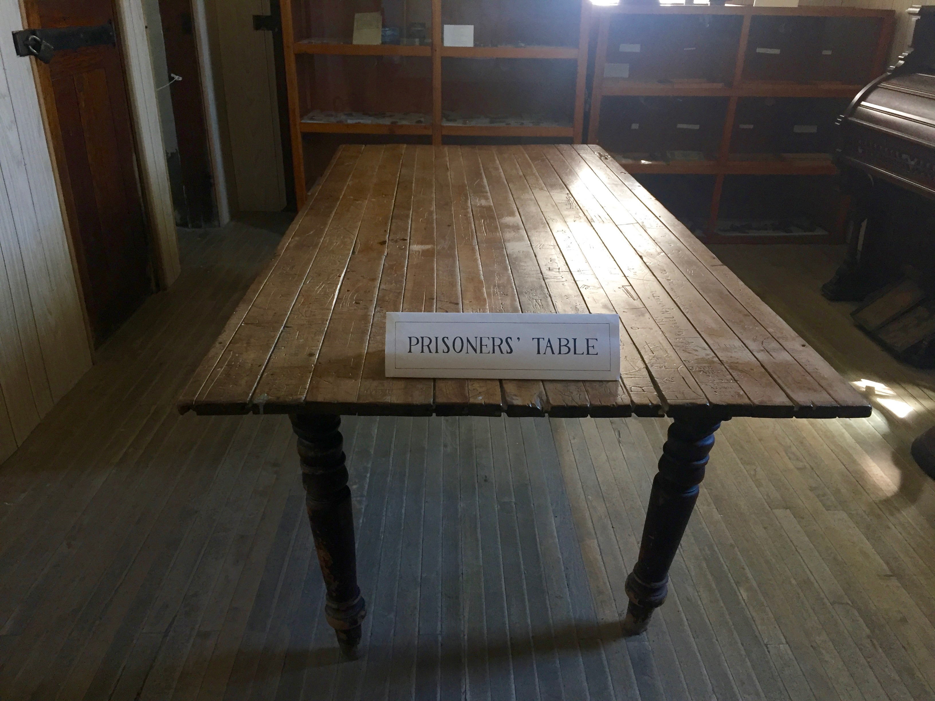 Prisoners' Table
