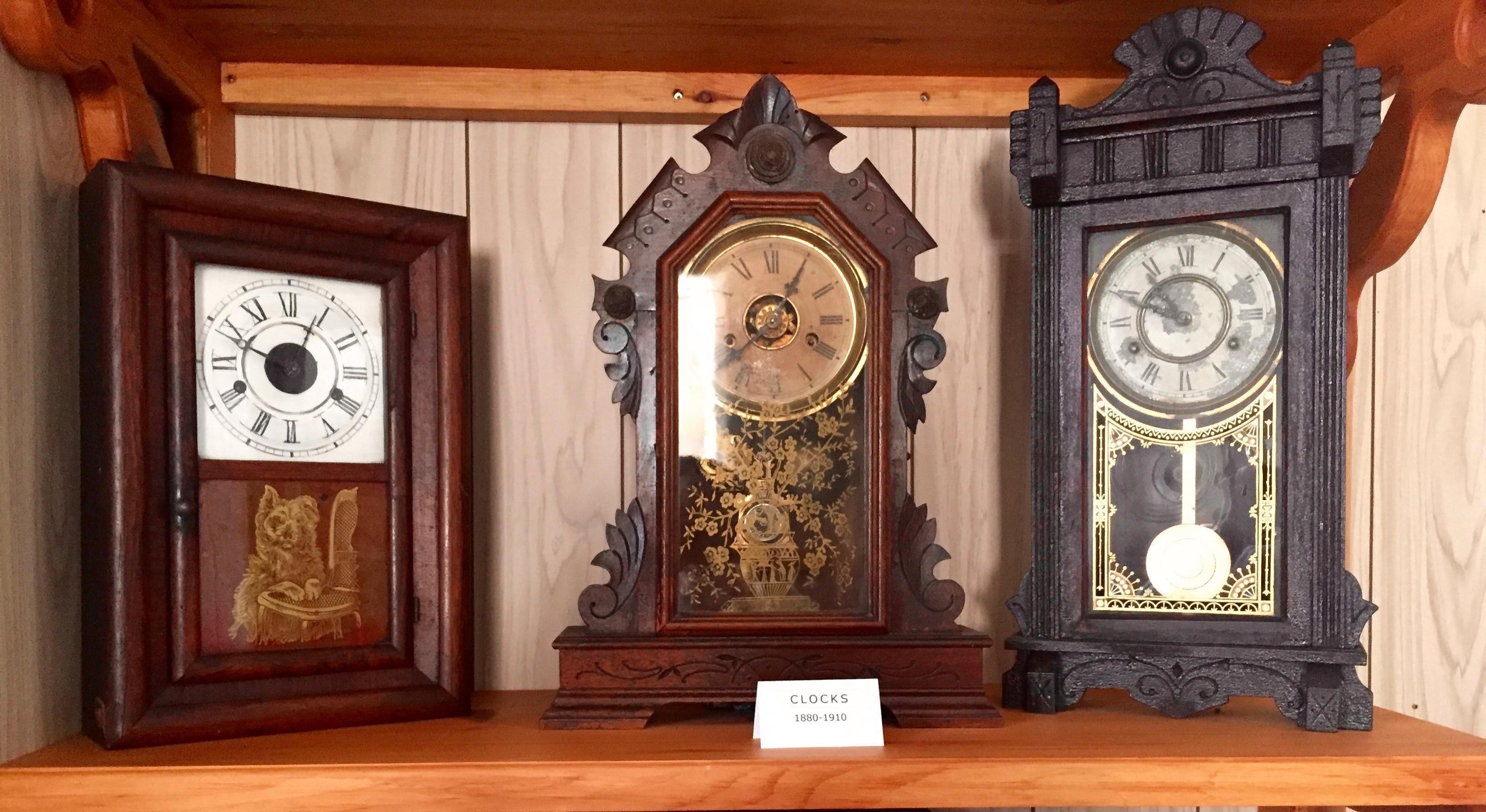 Clocks 1880-1910