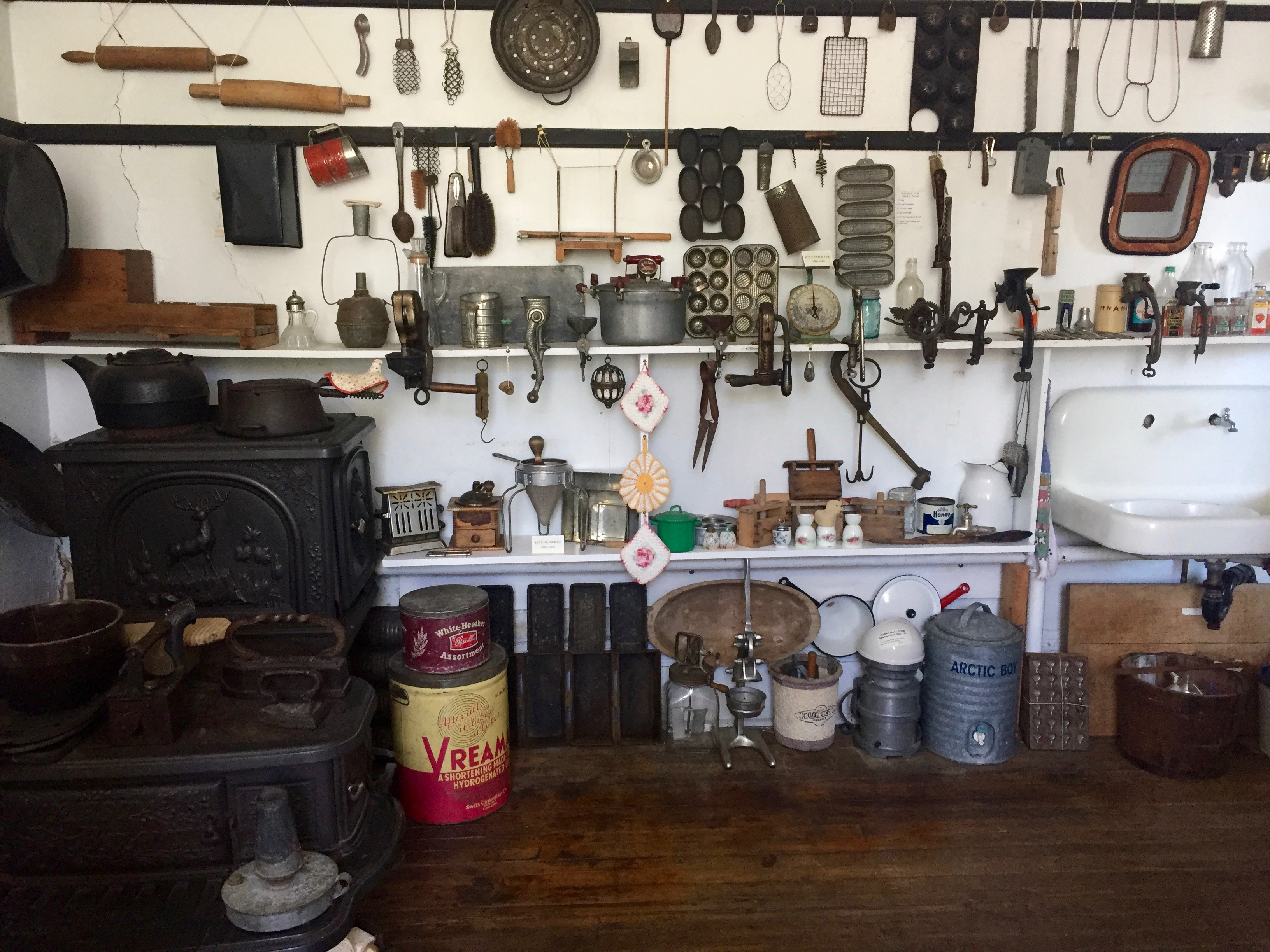 Kitchenware Display