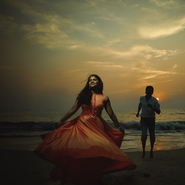 Post wedding photography in Kochi