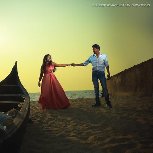 Post wedding photography in Kochi