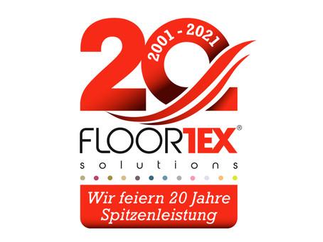 Floortex wird 20!