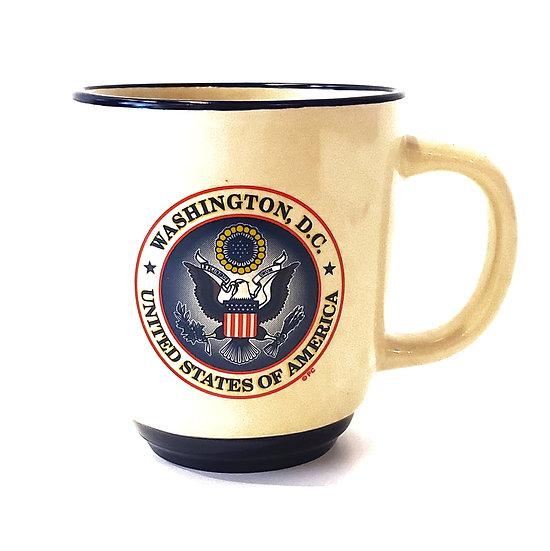 Mug - Seal of the USA - Beige