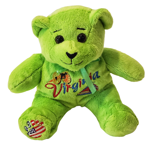 Bear - Virginia Teddy  Green
