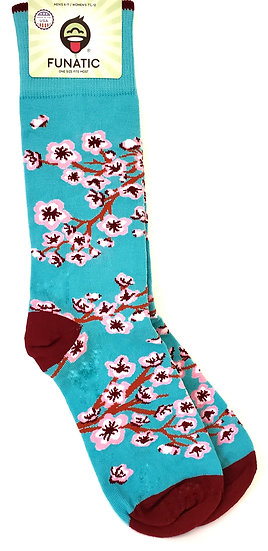 Cherry Blossoms Sock