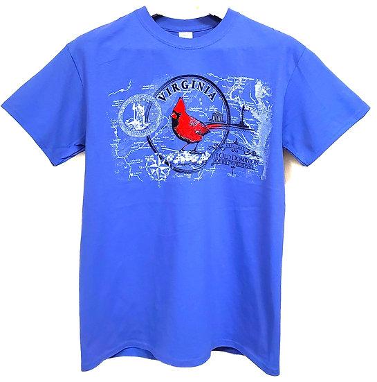 T-shirt Virginia Cardinal