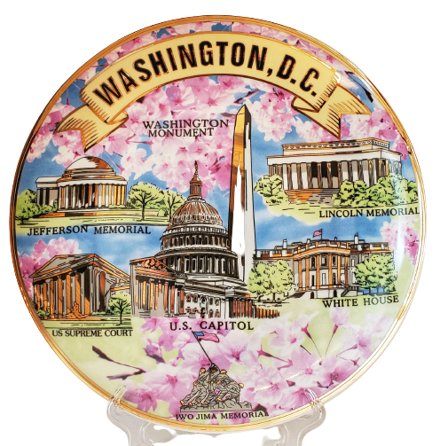 Plates - Washington DC Scenes Cherry Blossom