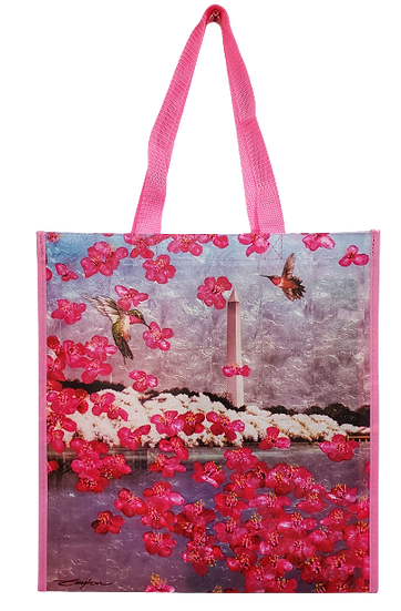 Tote Bag - 2021 NCBF Cherry Blossom Artwork